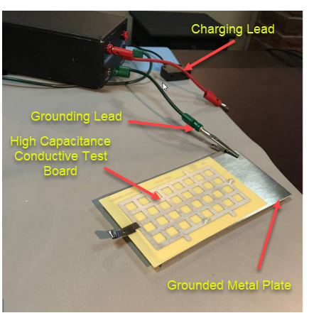 Test Setup for MM Pulse using PDS-510